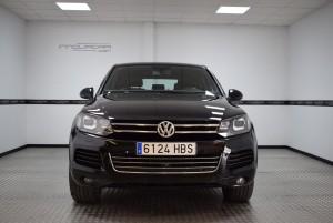 Volkswagen Touareg 3.0 de ocasión en Valencia frontal