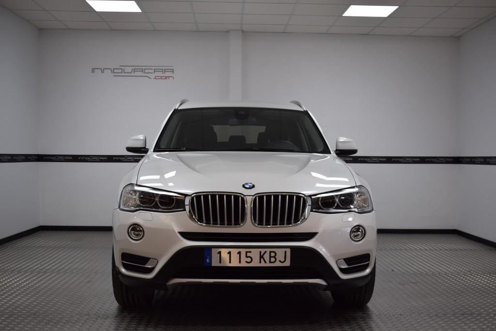 BMW X3 Xdrive20d de ocasión Valencia